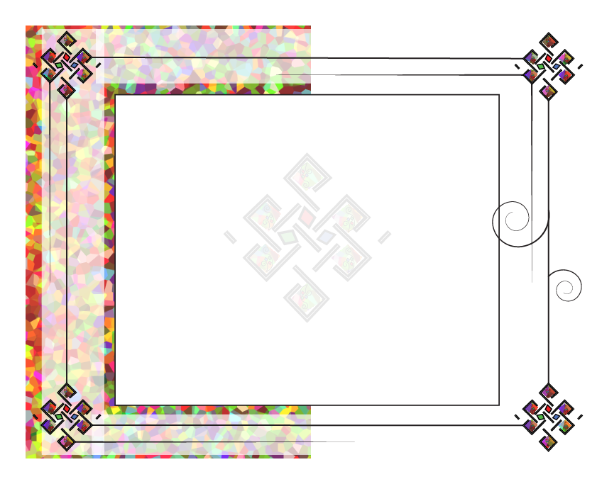 blank certificate designs