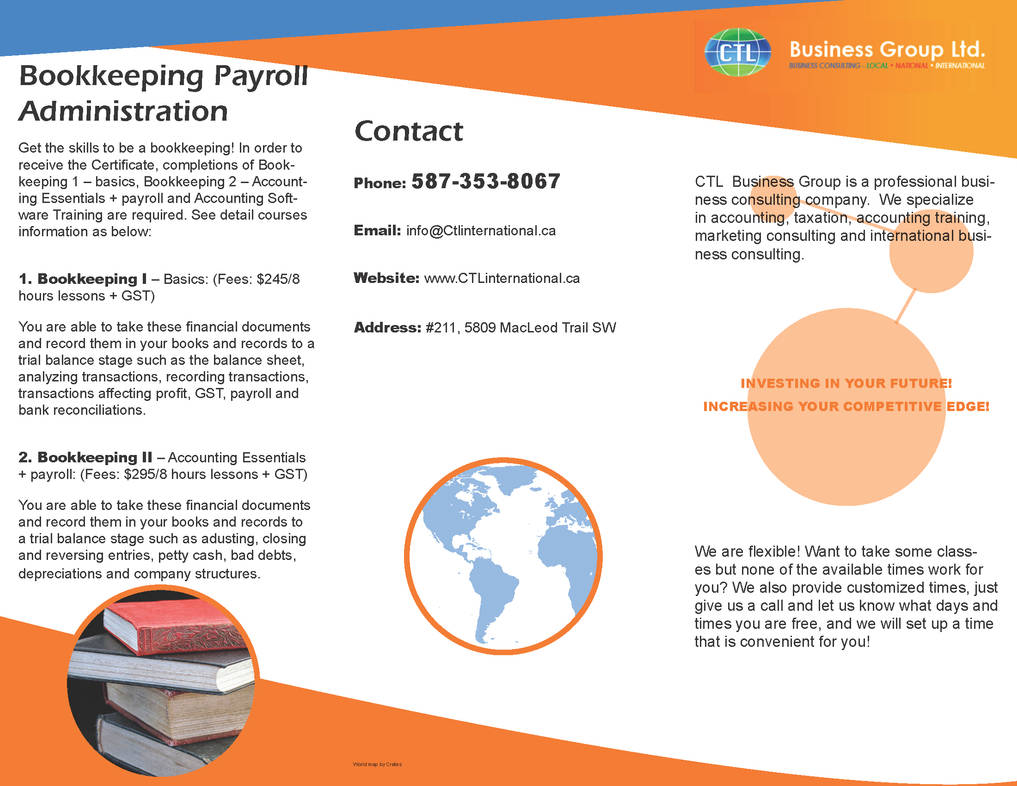 CTL Business Group Ltd Brochure by AprilSilverWolf on DeviantArt