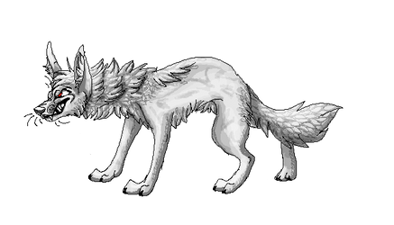 Lazy Dog Tail Pixel Animation