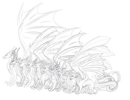 Free Wings of Fire Templates