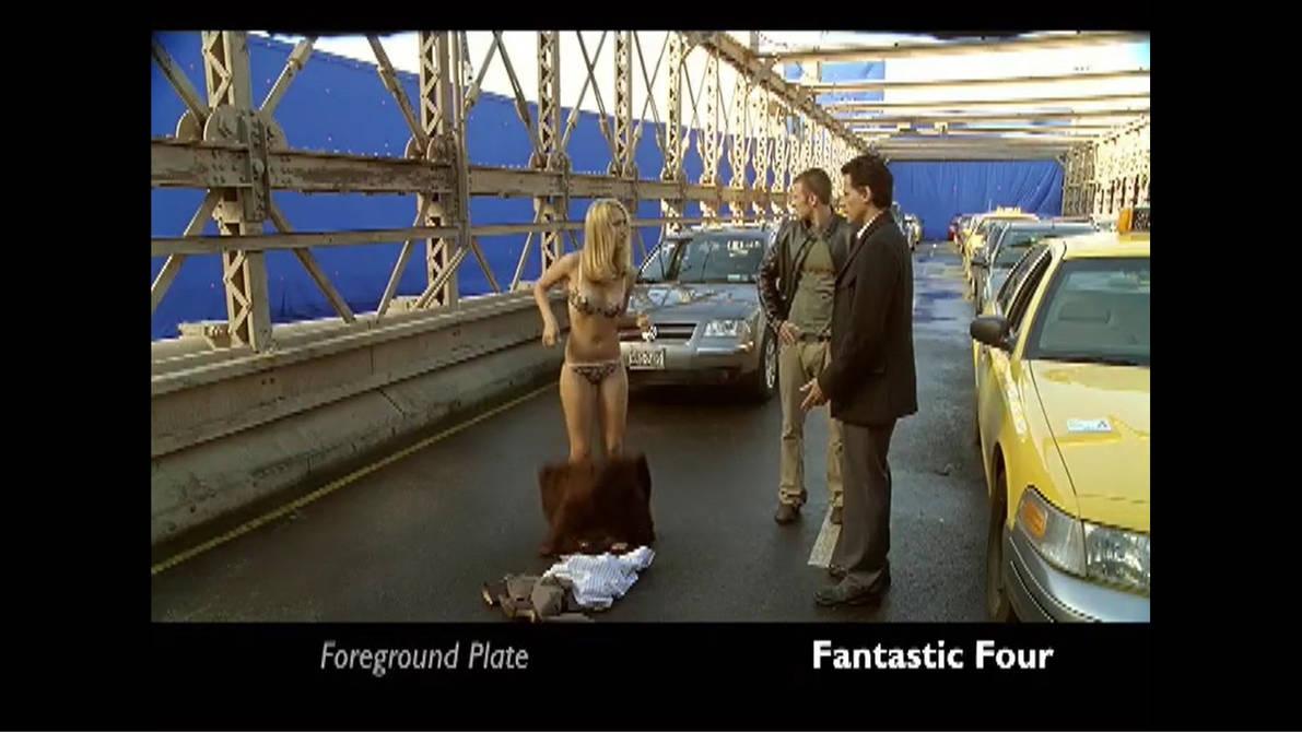 Jessica Alba Fantastic Four Panties