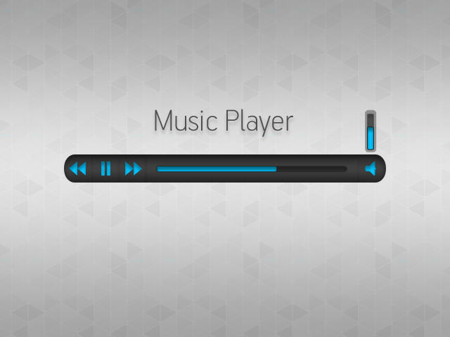 Music Player (Free PSD) by TyupinKirill