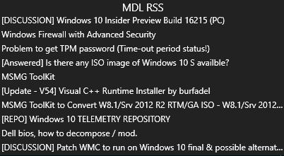 MyDigitalLife RSS by tr3g0r