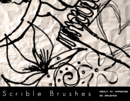 Scribbles and Doodles Brushes