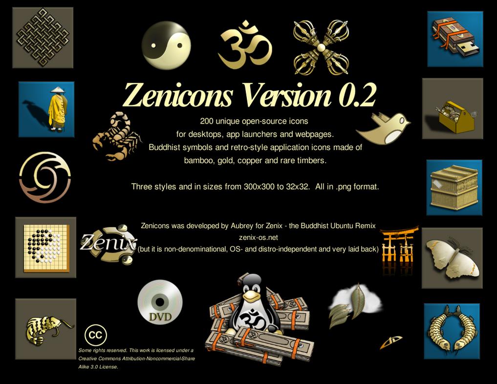 Zenicons Version 0.2 by TAubrey