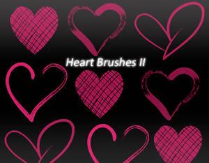 Heart Brushes 2