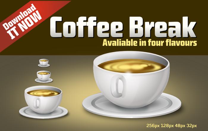 CoffeeBreak Icon by uberdiablo-pixels