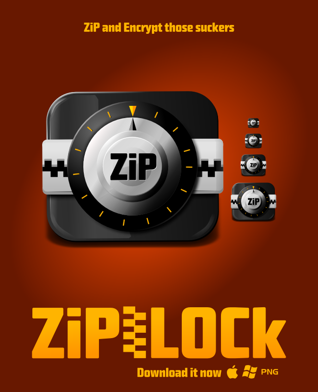 ZipLOCk Icon by uberdiablo-pixels