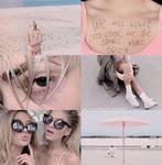 Pink shades psd