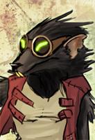 Rat rough animation scene by Tanimatic