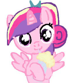 Princess Cadence Filly Milkshake Trace