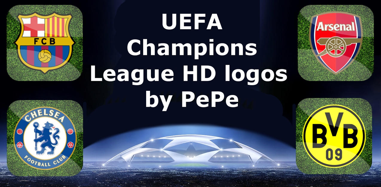 uefa champions league 20112012 clubs logos by 9pepe2 on