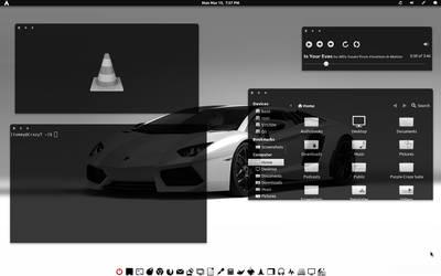Black-n-White-GTK v1 by CraazyT