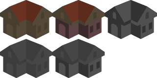 Iso Building Icon Placeholder by qubodup