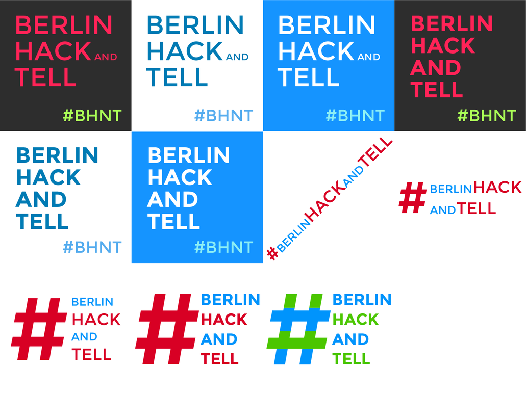 Unused Berlin Hack And Tell Logo SVG by qubodup