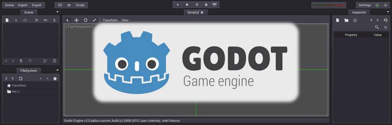 Godot Engine Facebook Group Header