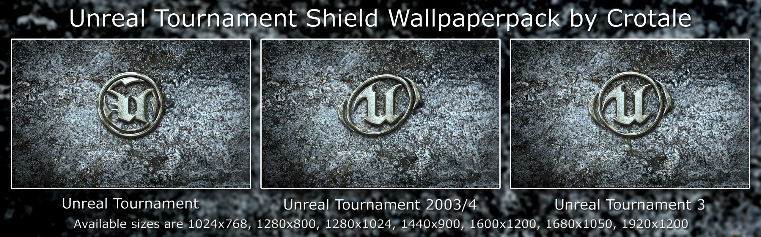 UT Shields Wallpaper Pack