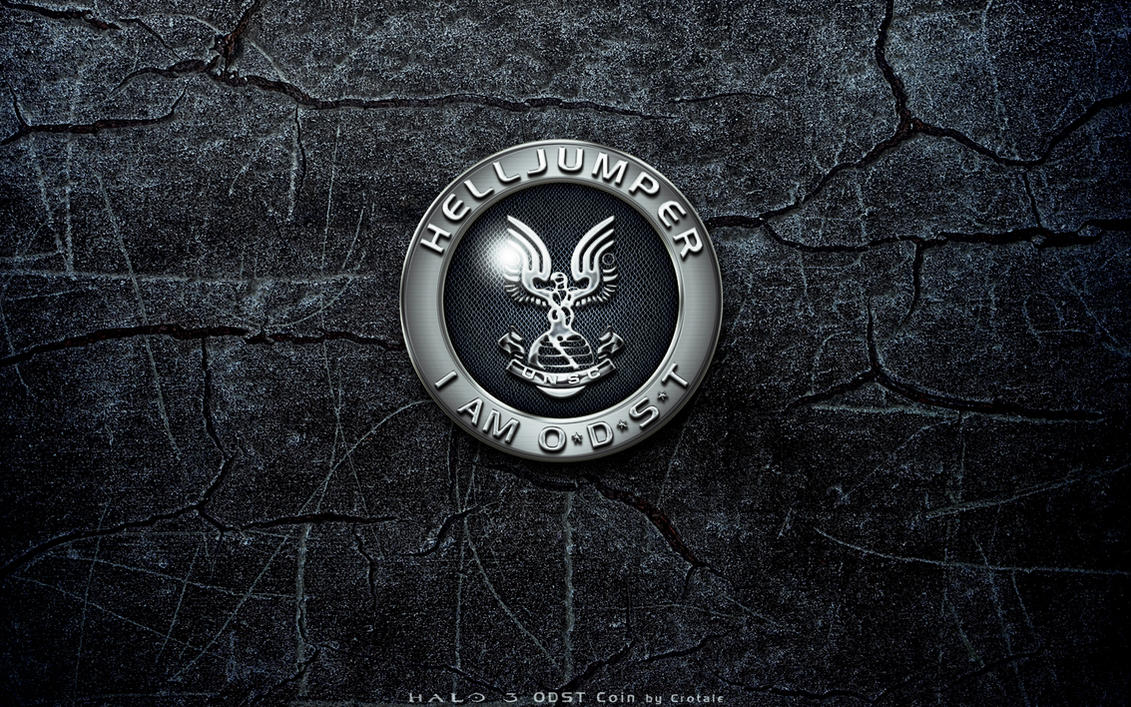Halo 3 ODST Coin Front by Crotale