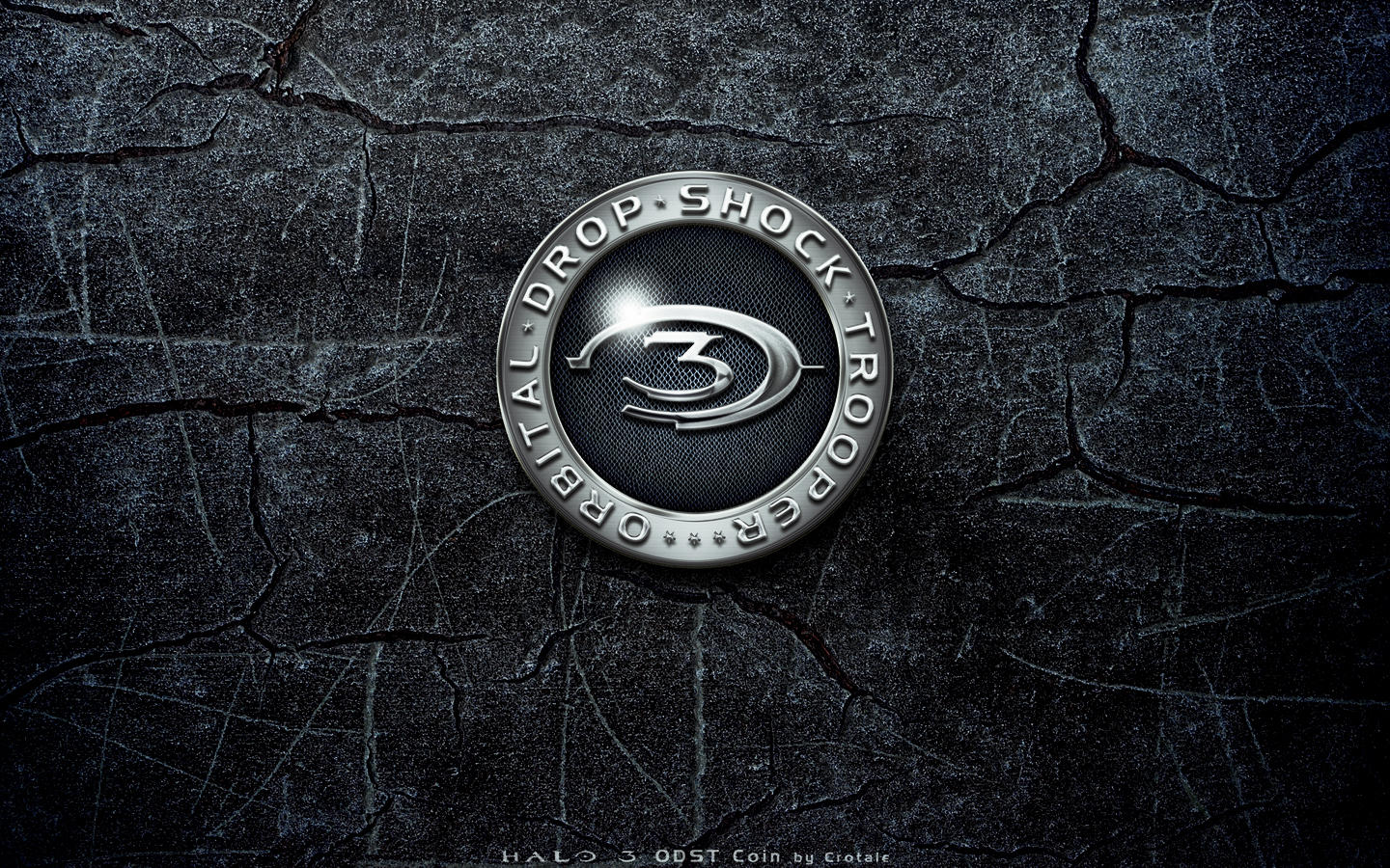 Halo 3 ODST Coin Back by Crotale