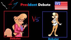 President Debate Callie Briggs vs Lola Bunny
