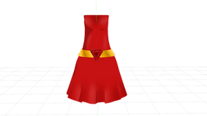 [MMD] Ruby Dress DL