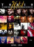 24 Tokio Hotel icons by DarknessEndless