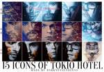15 Galaxy Tokio Hotel icons by DarknessEndless