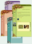 Free CSS: SPRING - 4 Colors