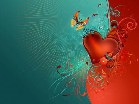 Valentine's Heart - WP