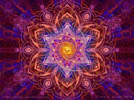Healing Wallpaper Purple