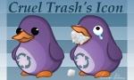 Cruel_trash_icon by Corvocollorosso