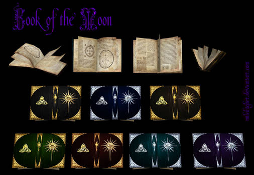 Book of the Moon (free model)