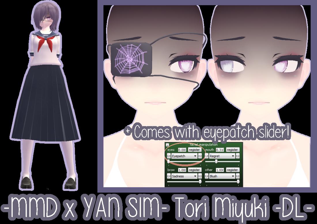 [YAN SIM OC x MMD] Tori Miyuki [DL] by InvaderIka