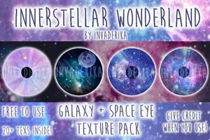 [MMD] Interstellar Wonderland { Eye Texture Pack } by InvaderIka