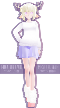MMD DL   Mica The Faun   2020 Sour! Remake