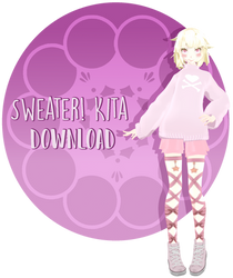 {MMD X YS OC] Sweater! Kita [DL]