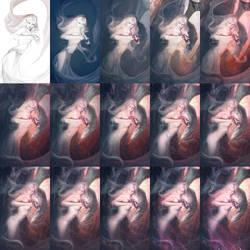 Red Pearl GIF by Darey-Dawn