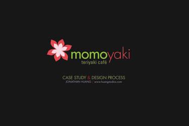 Momoyaki Identity Design by huang