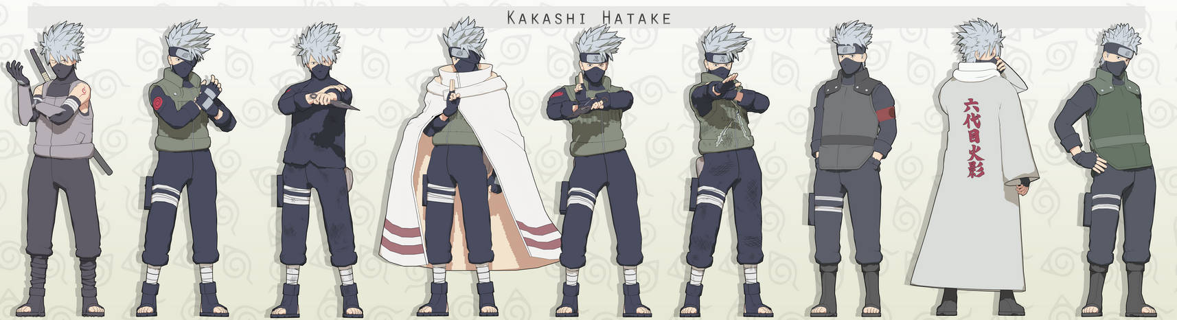 MMD Kakashi Hatake Pack + DL
