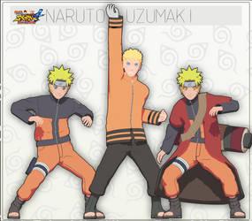 MMD Naruto Uzumaki Pack + DL by NaraShadows
