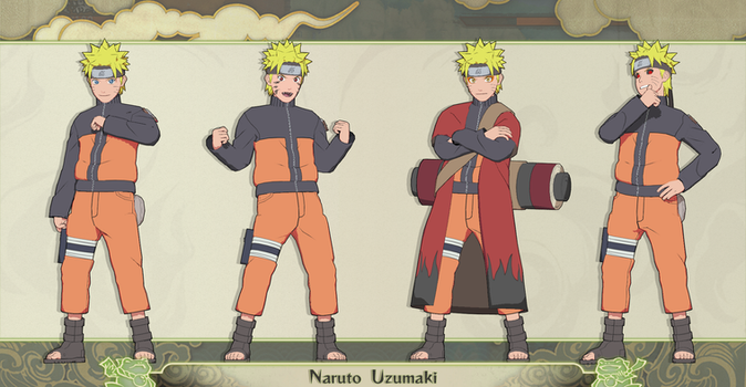 MMD Naruto Uzumaki Pack + DL