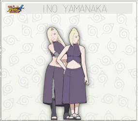 MMD  Ino Yamanaka + DL by NaraShadows