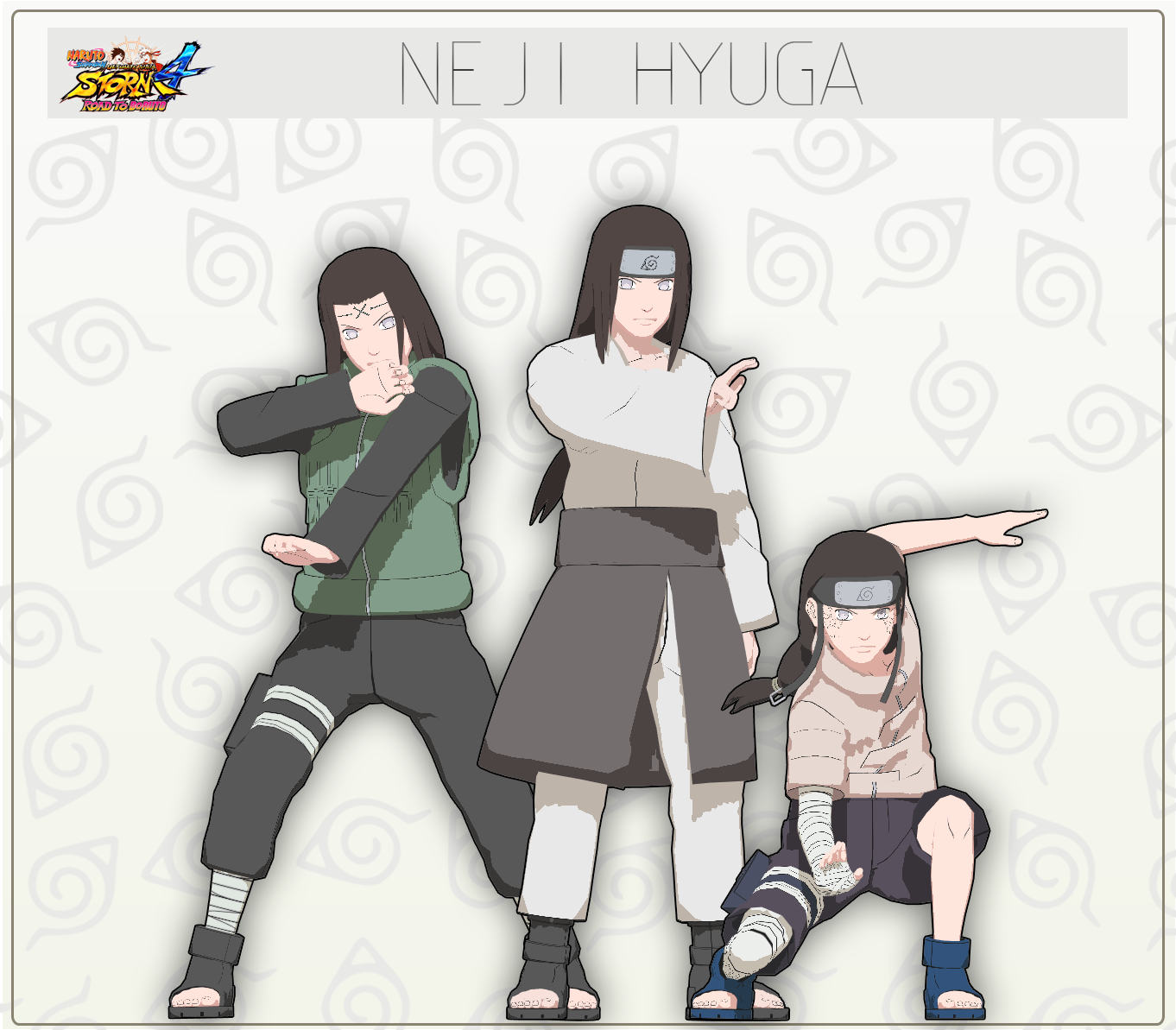 MMD Neji Hyuga Pack + DL by NaraShadows on DeviantArt