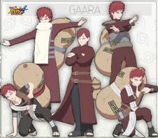 MMD Gaara + DL by NaraShadows