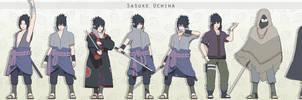 MMD Sasuke Uchiha Pack +DL