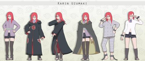 MMD  Karin Uzumaki + DL by NaraShadows