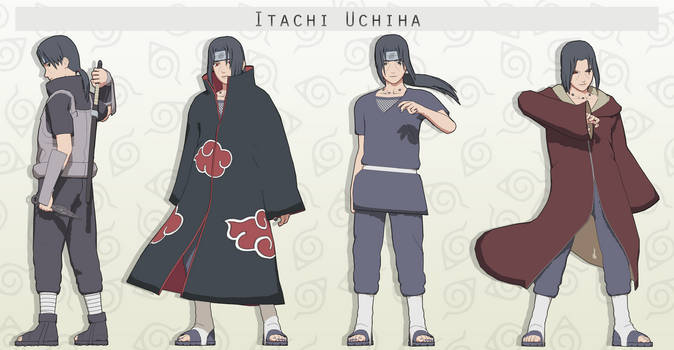 MMD  Itachi Uchiha Pack + DL by NaraShadows
