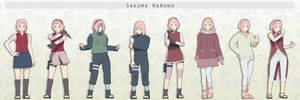 MMD Sakura Haruno Pack + DL