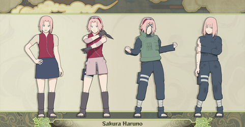 MMD Sakura Haruno Pack (Update) + DL