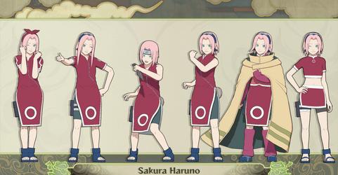 MMD Sakura Haruno PTS + DL